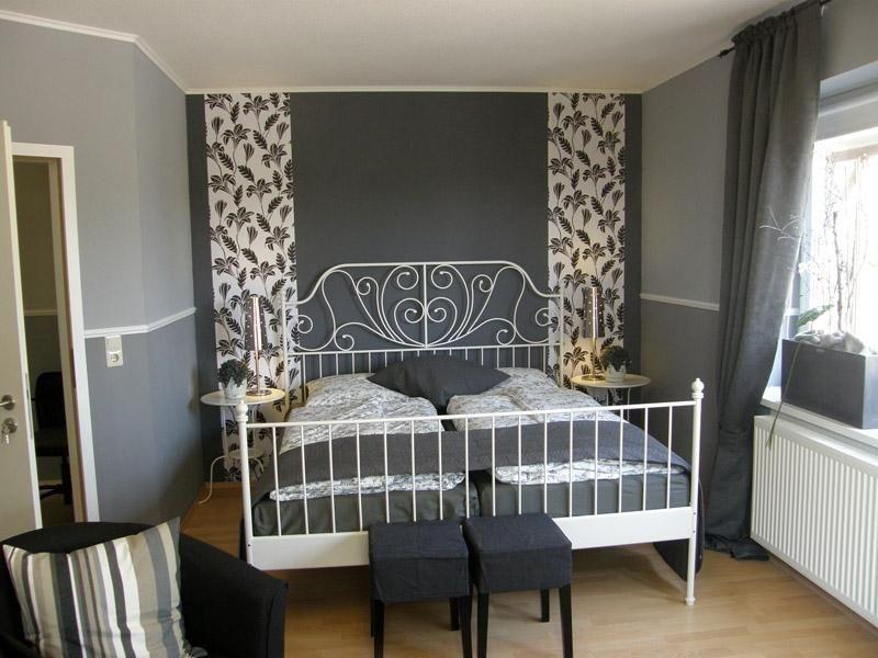 Blick in die Bettnische im Zimmer 3